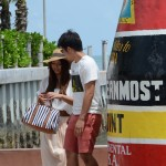 Southernmost tip - Japanese couple not happy with pose #8