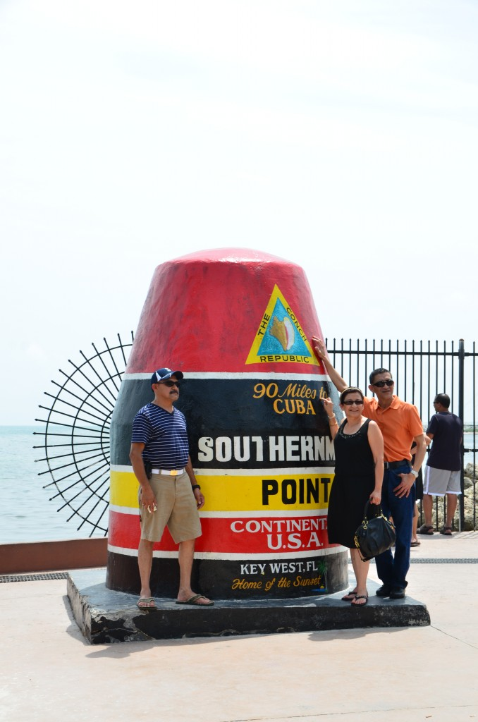 Southernmost tip - Intruding into other's pics