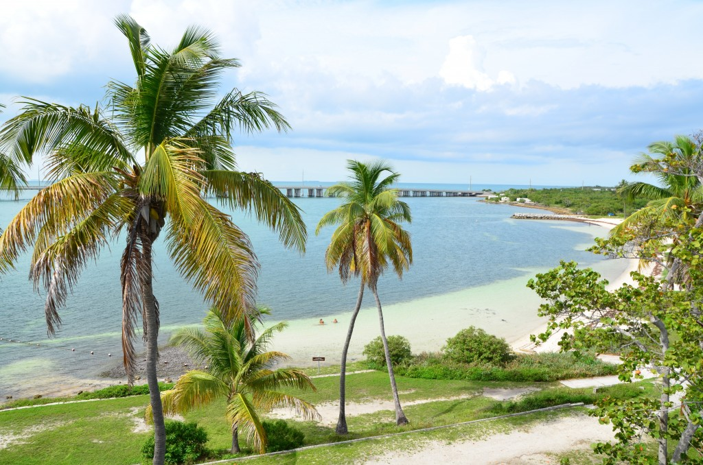 View of Bahia Honda Key from the bridge
