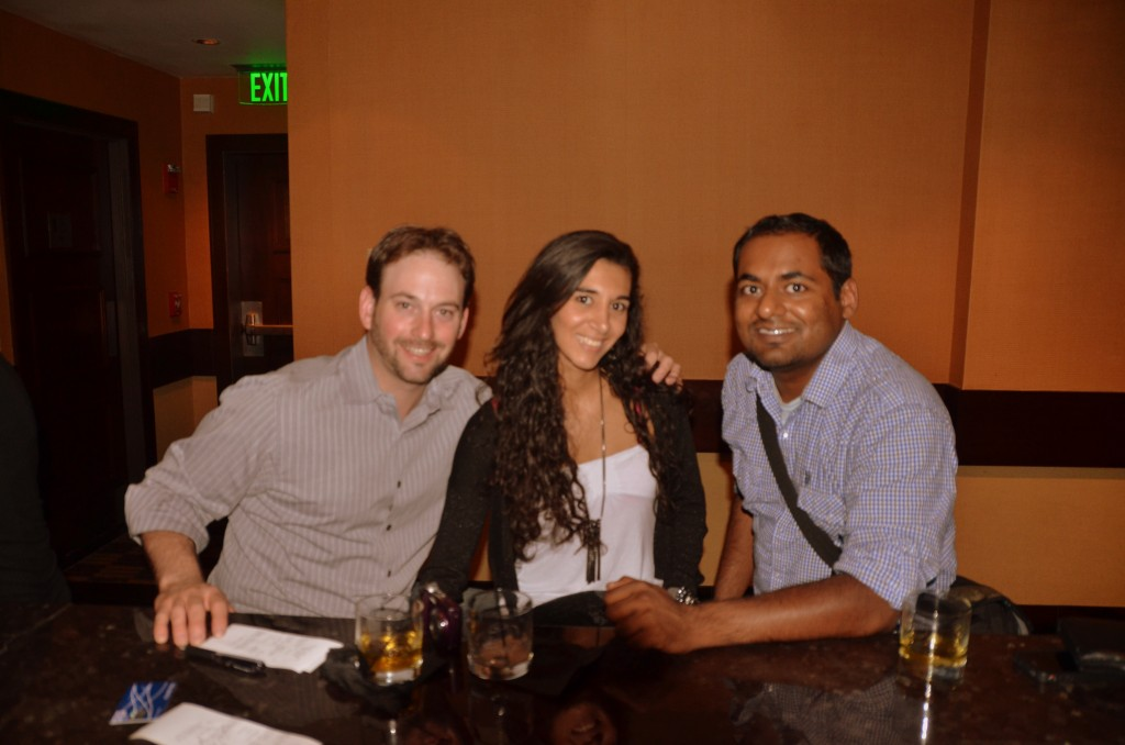 San Diego roomies reunion - with Joe and Natalia