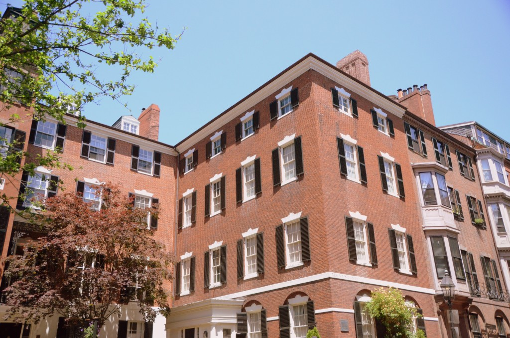 A typical Beacon Hill mansion